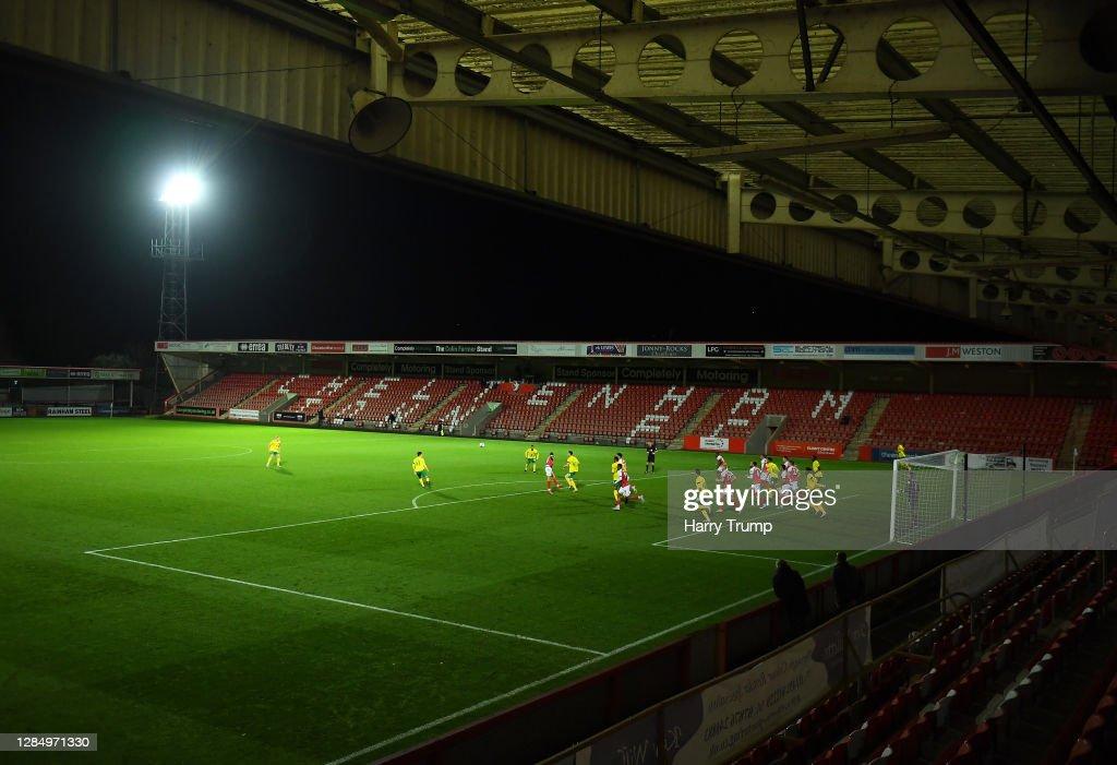 Cheltenham Town v Norwich City U21 - EFL Trophy : News Photo