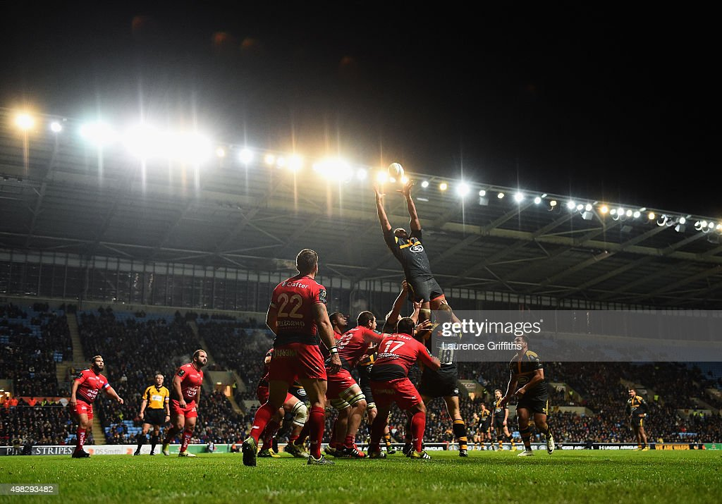 Wasps v RC Toulon - European Rugby Champions Cup : News Photo