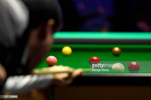 General view of play during the fourth round of the Betway UK Championship at The Barbican on December 05, 2019 in York, England.