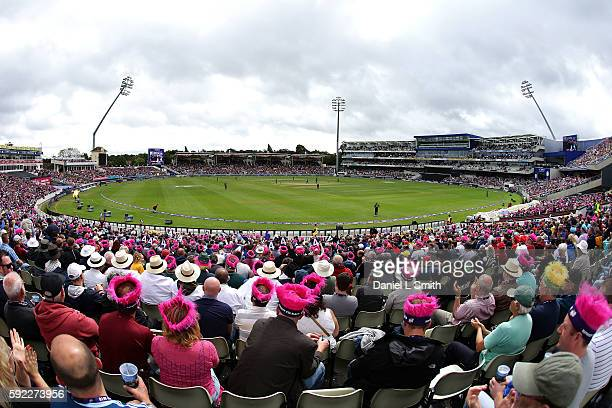 A general view of play during the NatWest T20 Blast Finals day at Edgbaston on August 20 2016 in Birmingham England