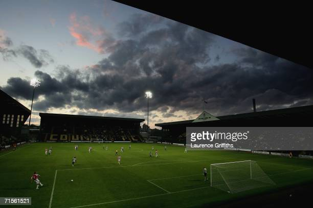 General view of play during the Pre Season Friendly between Notts County and Sheffield United at Meadow Lane on August 1, 2006 in Nottingham, England.