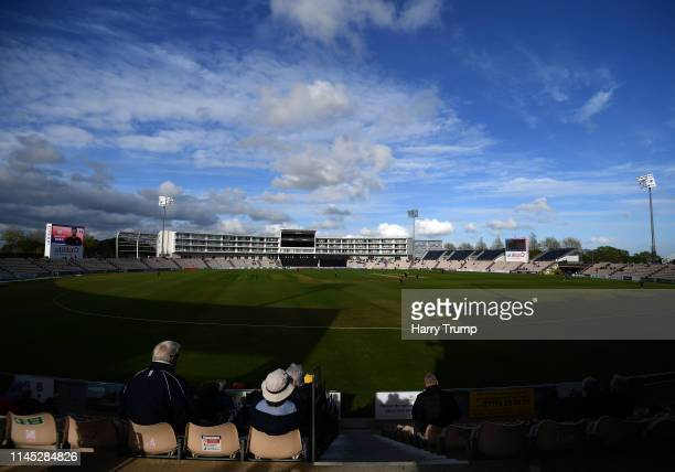 General view of play during the Royal London One Day Cup match between Hampshire and Gloucestershire at The Ageas Bowl on April 26 2019 in...