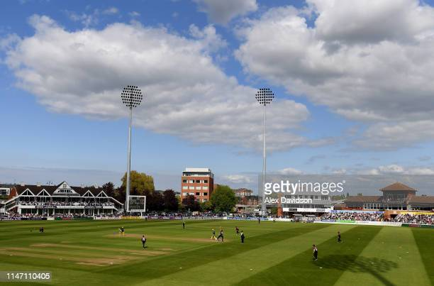General view of play during the Royal London One Day Cup match between Somerset and Hampshire at The Cooper Associates County Ground on May 05 2019...