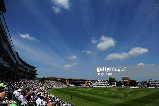 General view of play during the Royal London OneDay Cup match between Somerset and Glamorgan at The Cooper Associates County Ground on May 20 2018 in...