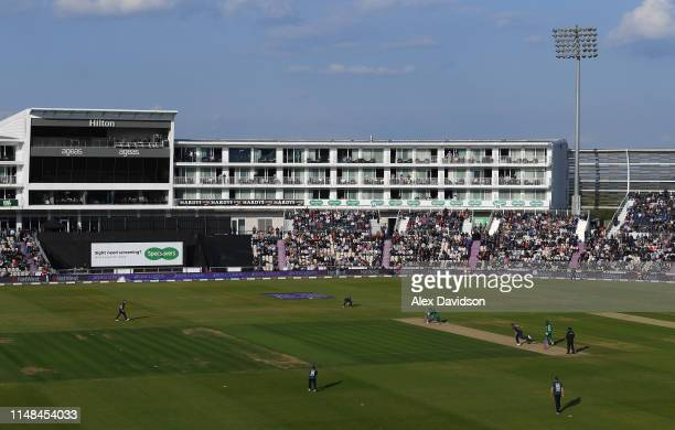 A general view of play during the second One Day International between England and Pakistan at The Ageas Bowl on May 11 2019 in Southampton England
