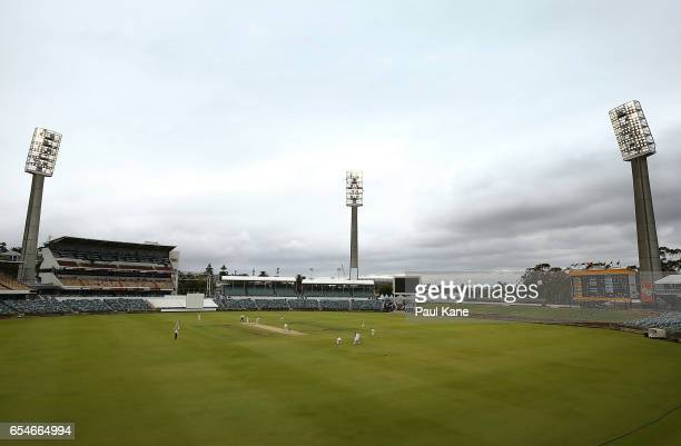 A general view of play during the Sheffield Shield match between Western Australia and New South Wales at WACA on March 18 2017 in Perth Australia