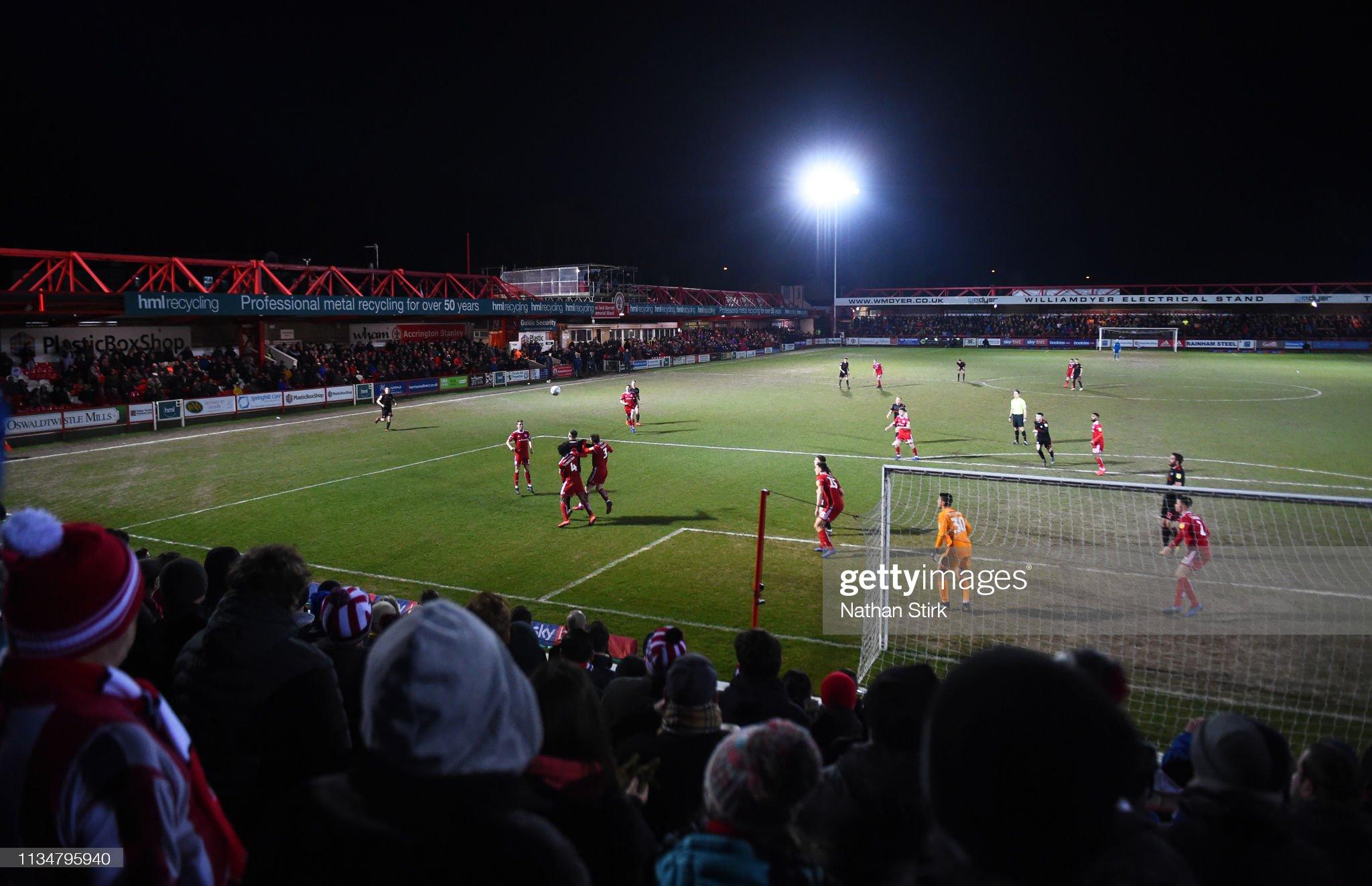 Accrington Stanley v Sunderland - Sky Bet League One : News Photo