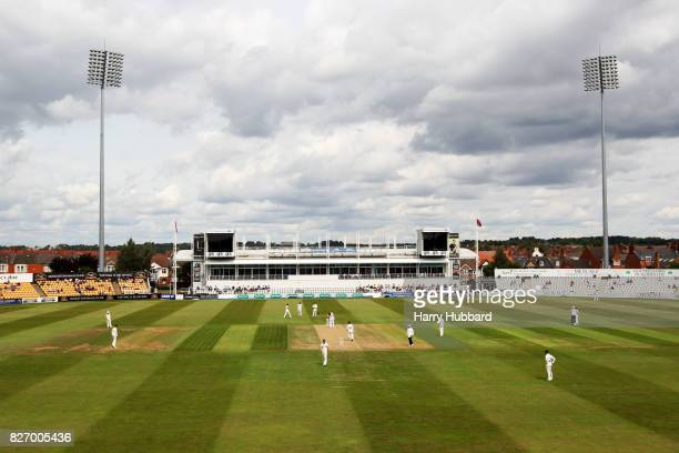 General view of play during the Specsavers County Championship Division Two match between Northamptonshire and Gloucestershire at The County Ground...
