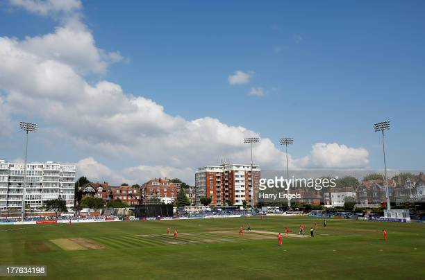 General view of play during the third NatWest One Day International match between England and Australia at the BrightonandHoveJobs.com County Ground...