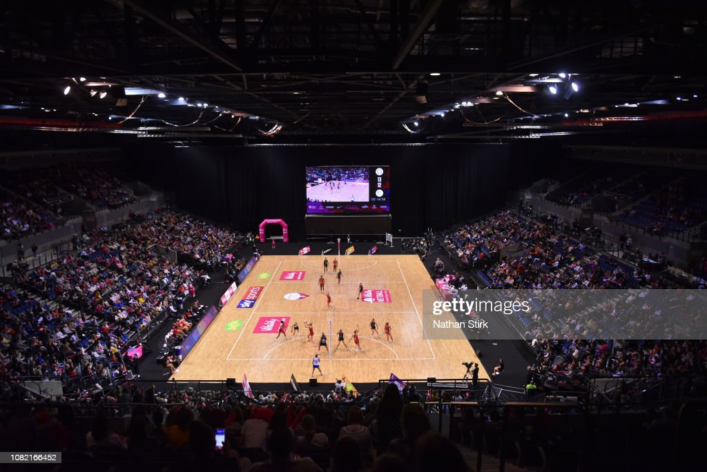 Netball Quad Series - England v New Zealand : News Photo