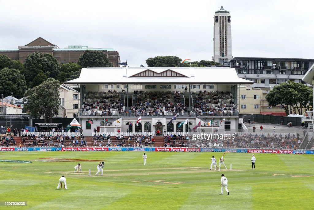 New Zealand v India - First Test: Day 1 : News Photo