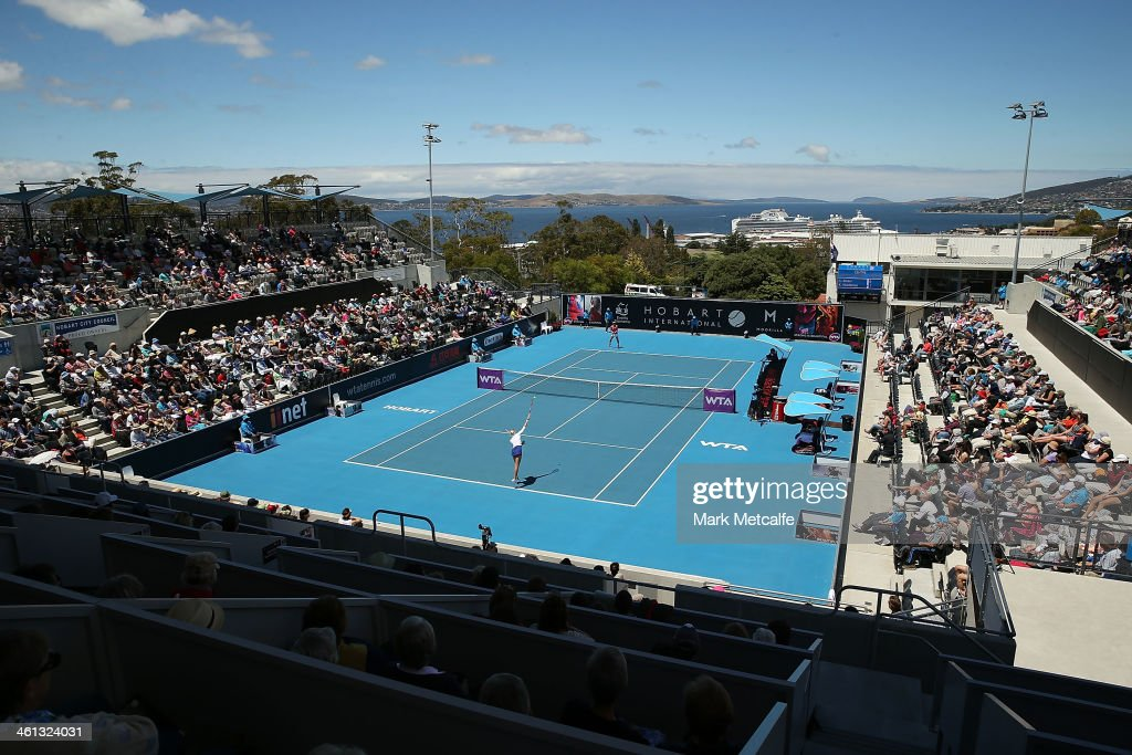 2014 Moorilla Hobart International - Day 4 : News Photo