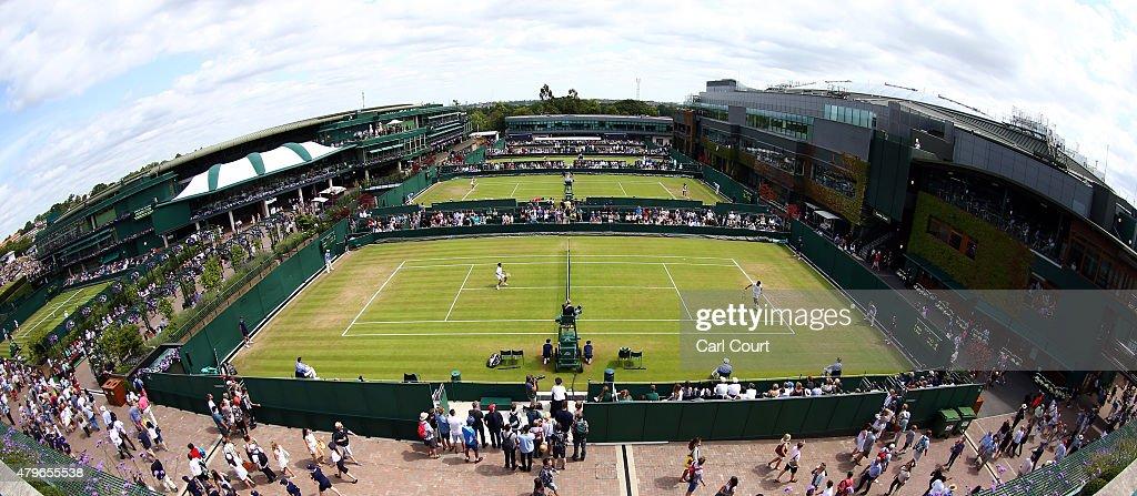 Wimbledon Tennis Championship - Day Seven : News Photo