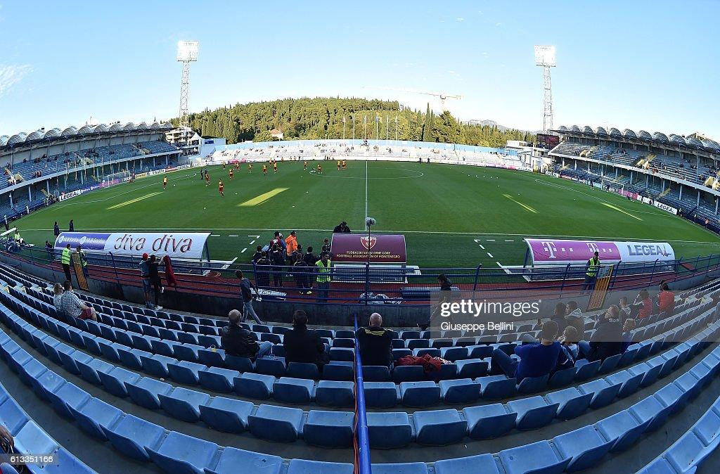 Montenegro v Kazakhstan - FIFA 2018 World Cup Qualifier : News Photo