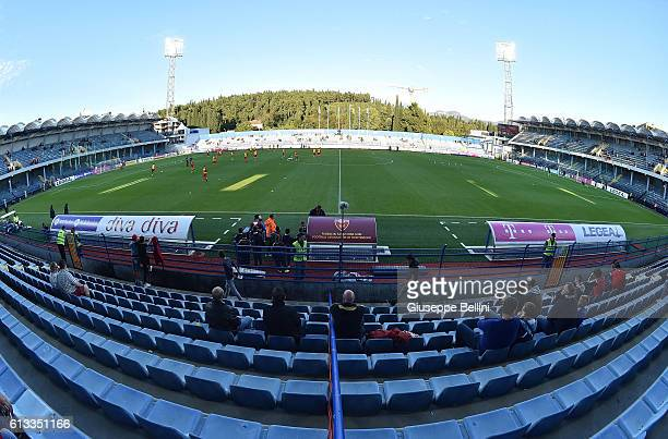 General view of Podgorica City Stadium prior the FIFA 2018 World Cup Qualifier between Montenegro and Kazakhstan at Podgorica City Stadium on October...
