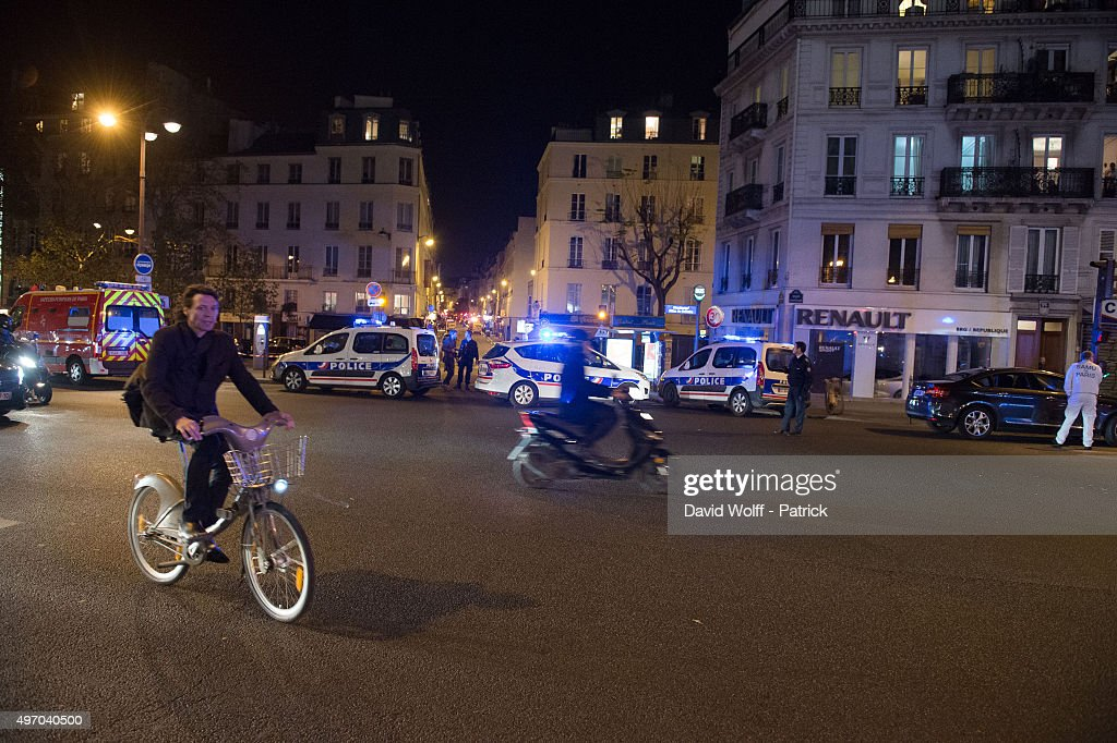 Shootings Near the Bataclan In Paris : News Photo