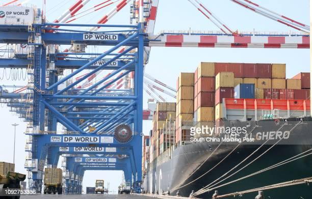 General view of Port de Doraleh, Djibouti, East Africa. 11JAN17 SCMP / Felix Wong