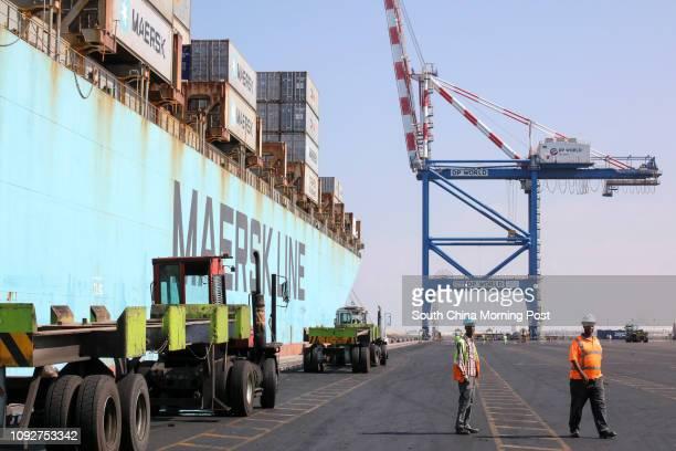 General view of Port de Doraleh Djibouti East Africa 11JAN17 SCMP / Felix Wong