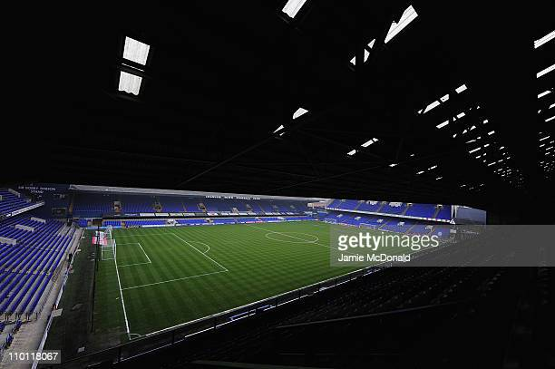 A general view of Portman Road home of Ipswich Town Football Club on March 15 2011 in Ipswich England