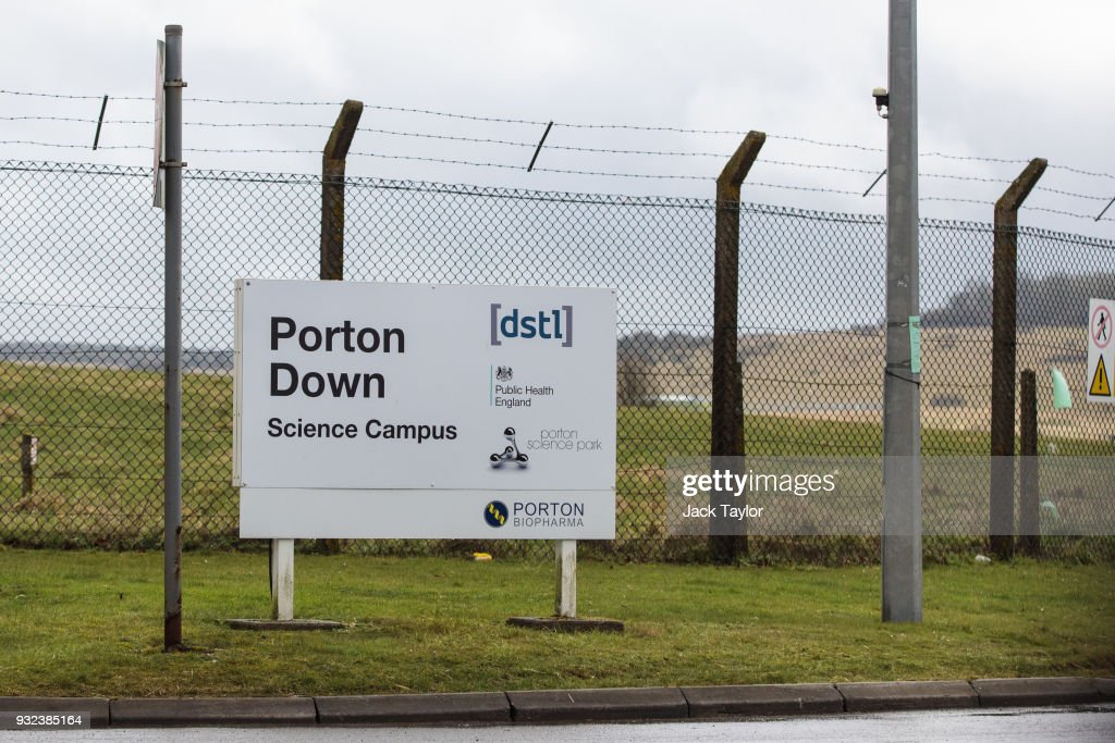 £48 Million Of New Funding Announced For Britain's Defence Science And Technology Laboratory At Porton Down : News Photo