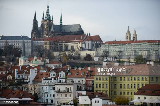 A general view of Prague castle Prague the capital city of the Czech Republic and one of the top European Tourist destinations is known for the Old...