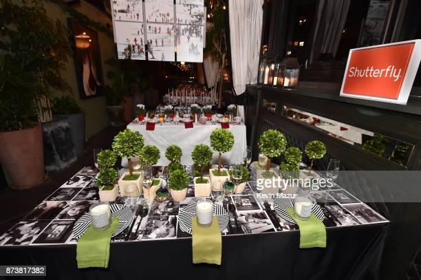 General view of presentation as Gabrielle Union launches Shutterfly Holiday Gift Collection at seasonal shopping event at Gramercy Park Hotel on...