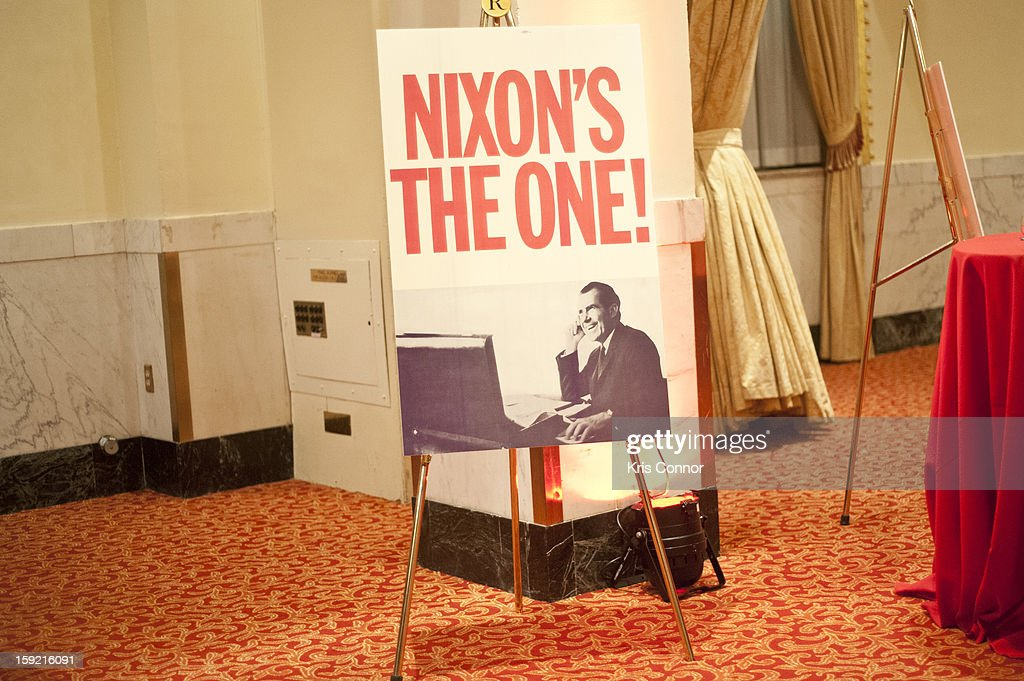 General view of President Nixon's 100th Birthday Gala on January 9, 2013 in Washington, United States.