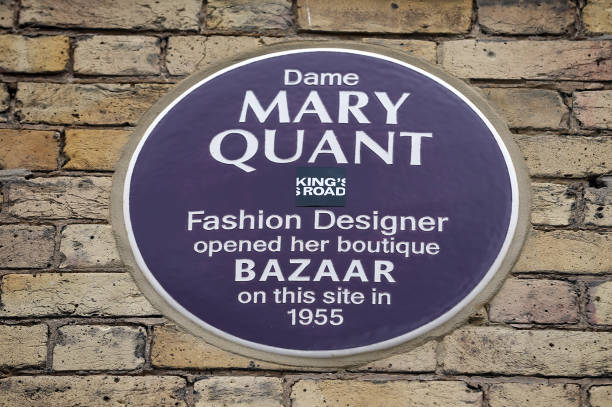 GBR: Dame Mary Quant Plaque Unveiled During London Fashion Week