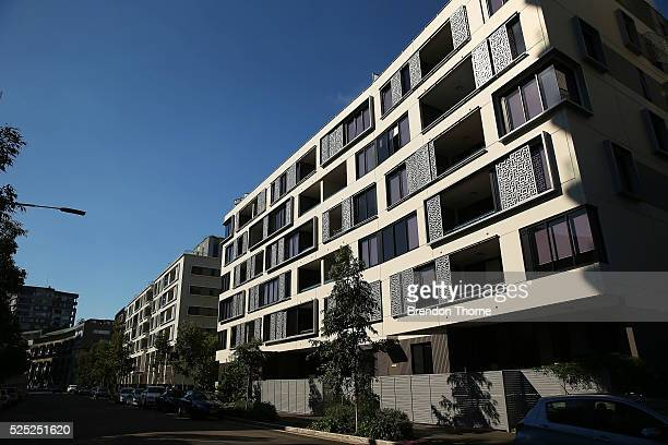 A general view of properties in Zetland on April 28 2016 in Sydney Australia A report by The Grattan Institute release on Monday found the top 10 per...