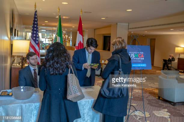 General View of Prospects for USMCA Ratification Trilateral Dialogue on February 21 2019 in Washington DC
