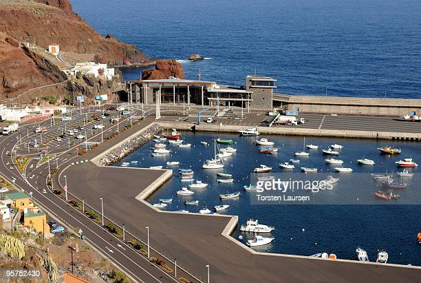 A general view of Puerto de la Estaca on El Hierro Island January 13 2010 in El Hierro Island Spain The island inspired and features in the new film...