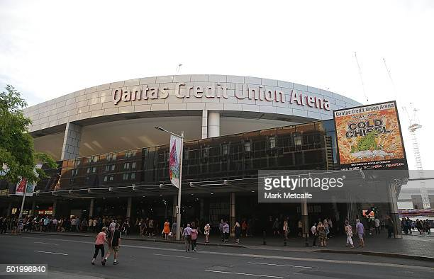 A general view of Qantas Credit Union Arena on December 19 2015 in Sydney Australia Formerly known as the Sydney Entertainment Centre the building...