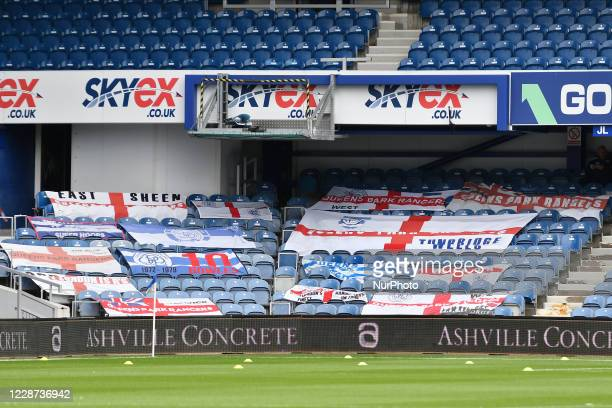 General view of Queens Park Ranger stadium during the Sky Bet Championship match between Queens Park Rangers and Middlesbrough at The Kiyan Prince...