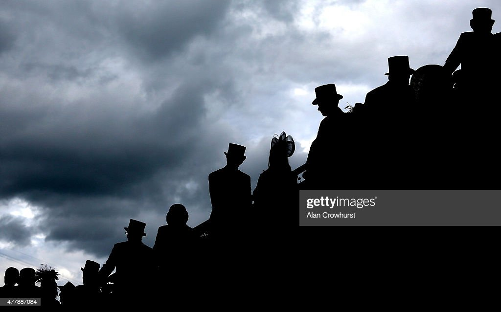 A general view of racegoers during Royal Ascot 2015 at Ascot racecourse on June 20, 2015 in Ascot, England.
