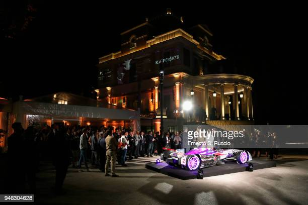 A general view of Racing Goes Green an event organized by Kaspersky Lab Official Sponsor of DS Virgin Racing Team to celebrate the Formula E race in...