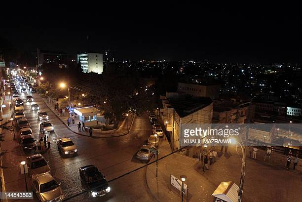A general view of Rainbow Street at night in Amman on May 62012 Rainbow Street in Amman's heart is abuzz again after posh 1920sera homes were turned...