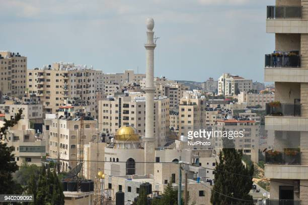 A general view of Ramallah center Monday 12 March 2018 in Ramallah Palestine