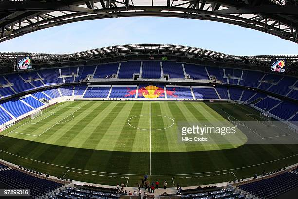 A general view of Red Bull Arena prior to its Grand Opening on March 20 2010 in Harrison New Jersey