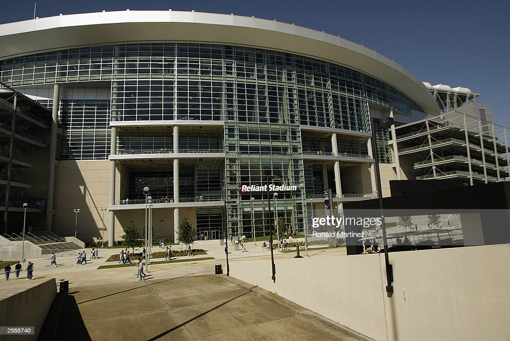General View Of Reliant Stadium Before The Game Between The The Houston  Texans And The Jacksonville
