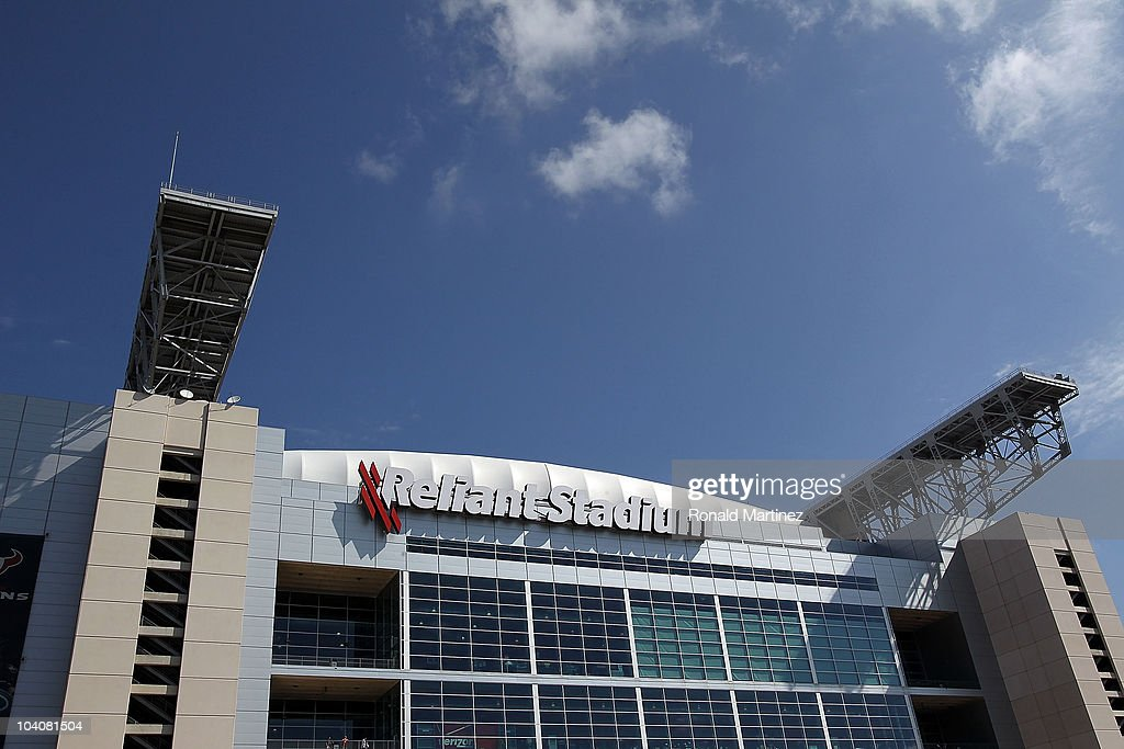 A general view of Reliant Stadium on September 12, 2010 in Houston, Texas.