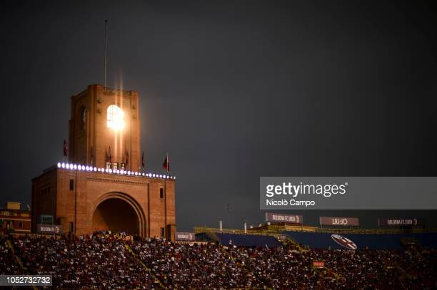 A general view of Renato Dall'Ara stadium during the Serie A football match between Bologna FC and Torino FC The match ended in a 22 tie