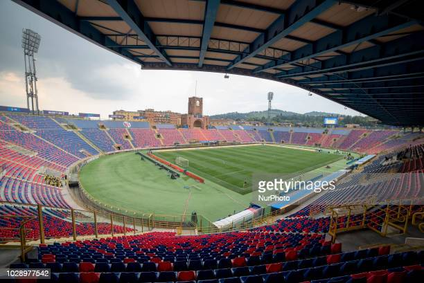 General view of Renato Dall'Ara Stadium during the UEFA Nations League 2019 between Italy and Poland at Renato Dall'Ara in Bologna, Italy on...