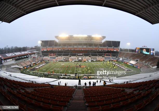 General view of Reser Stadium prior to the start of the game during a PAC-12 conference football game between the Oregon Ducks and Oregon State...
