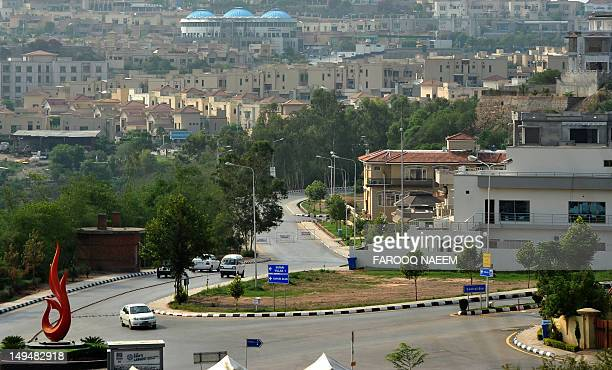 A general view of residential area of Rawalpindi on July 29 2012 Rawalpindi is the fourth largest city in Pakistan AFP PHOTO/Farooq NAEEM
