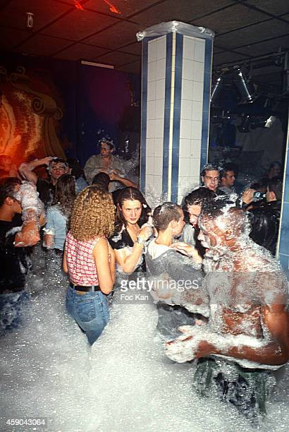 A general view of revellers at Les Bains Club Les Bains Douches in the 1990s in Paris France