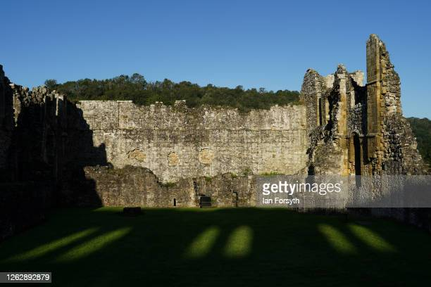 General view of Rievaulx Abbey ahead of reopening to the public on July 31 2020 in Helmsley North Yorkshire As coronavirus restrictions are lifted in...