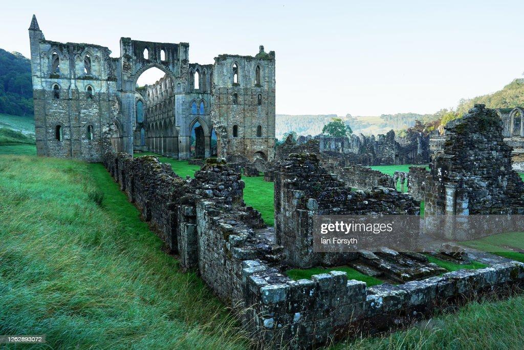 Rievaulx Abbey Prepares To Reopen To The Public : News Photo
