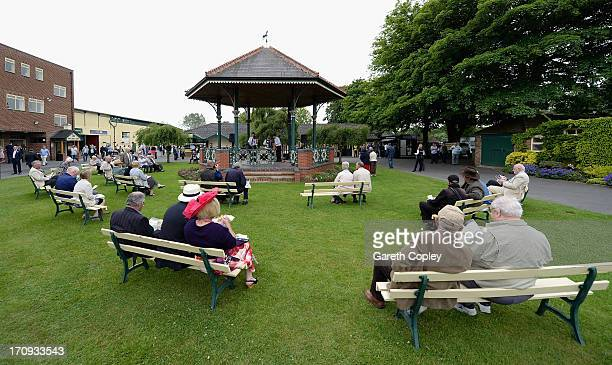 General view of Ripon Racecourse on June 20 2013 in Ripon England