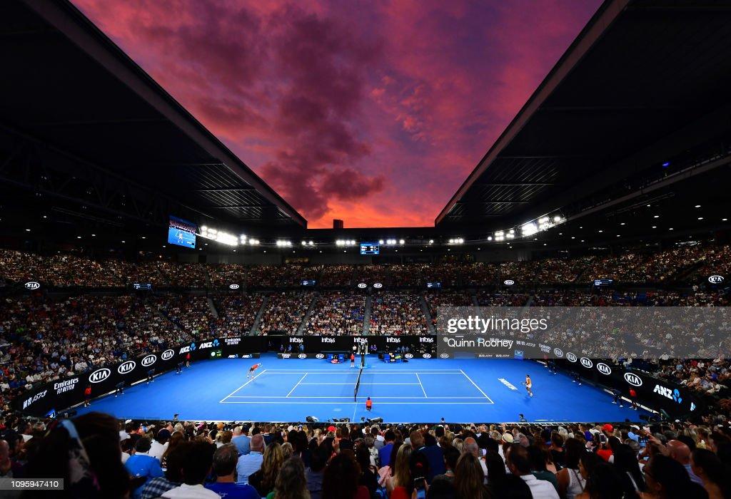 2019 Australian Open - Day 5 : ニュース写真