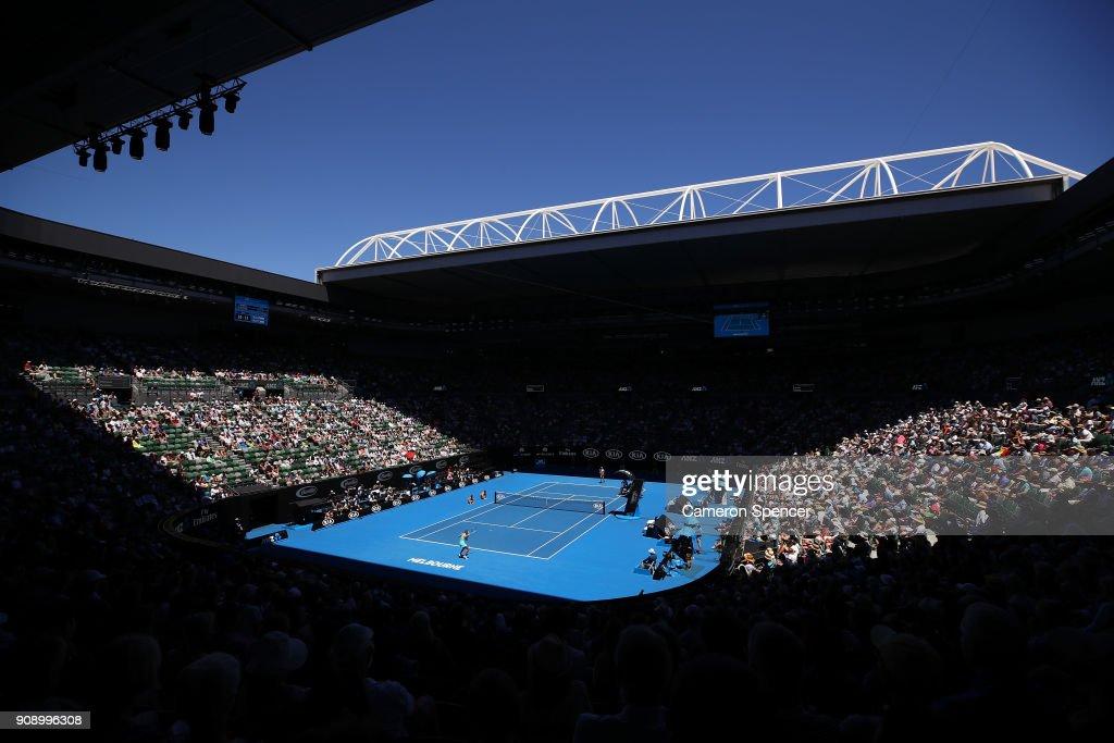 2018 Australian Open - Day 9 : ニュース写真